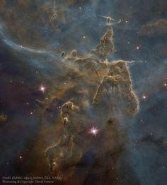 Пылевые столбы Таинственная гора / Astro Analytics