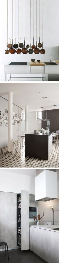 More than 1000 kitchens to inspire you! #kitchen #design #modern