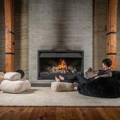 Premier Modern Sheepskin Beanbag, Theatre, Beanbag, Chair, Furniture, Wool, Sheepskin, Authentic, Fluffy, Modern Seating Decor by Mod Allure by ModAllure on Etsy