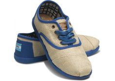 like these new blue cordones from Toms