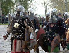 Golden Horde warriors (reconstruction)
