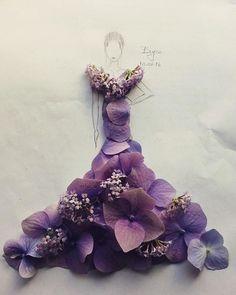 Ortanca ve minik çiçekler Hydrangea with little flowers #flower #princess…