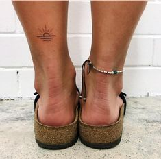 65 Charming small ankle tattoo Ankle is probably the most liked spot among women for a small tattoo. Infact tattoos on Dainty Tattoos, Pretty Tattoos, Mini Tattoos, Cute Tattoos, Small Tattoos, Tatoos, Sexy Tattoos, Simple Word Tattoos, Simple Sun Tattoo