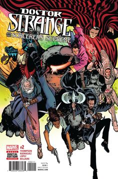 The Forgotten is here and is such a threat that it'll take a whole team of Sorcerers Supreme to take him down!