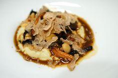 CREAMY POLENTA | white truffles, fricassee of truffled mushrooms