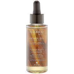 Alterna Bamboo Smooth Kendi Oil Pure Treatment Oil: Repair split ends and smooth frizz on medium to thick hair with a treatment oil that's also formulated to help preserve color.