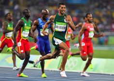 Van Niekerk, Olympic gold 400m from South Africa at Rio.