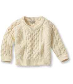 Infants' and Toddlers' Fisherman's Sweater
