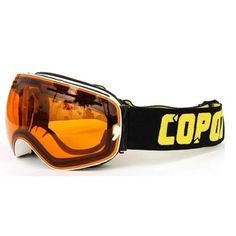 New Sale Copozz skiing/snowboard goggles double lens UV anti-fog ski goggles(White orange) Snowboard Goggles, Ski Goggles, Ski And Snowboard, Snowboarding Gear, Winter Hiking, Winter Fun, Snow Boots, Winter Boots, Summer Vacation Spots
