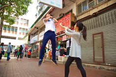 How to Literally Jump Into the Hadouken Photography Fad