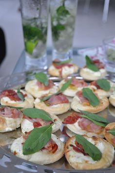 Pizzette saltimbocca