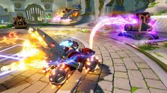 Every Skylanders game since Spyro's Adventure has had a hook to draw gamers of all ages in. This year's Skylanders SuperChargers is no different. The twist that PlayStation, Xbox, Wii, . Wii Games, Xbox 360 Games, News Games, Game Informer, New Video Games, Skylanders, Love Games, Nintendo 3ds, Wii U