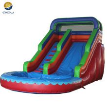 Factory high quality inflatable slide, inflatable bouncer slide, giant inflatable water slide for kids and adult