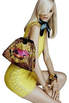 Versace For H&M Limited Edition Special Exclusive Vintage Versace Leopard Print Bag - Satchel $450