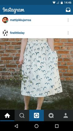 Fine little day skirt