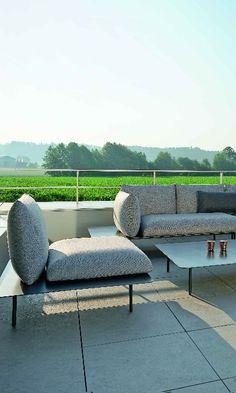 3 In 1: Lounge, Liege Und Sofa: Donna Von Stern Möbel. Modern Und  Wasserfest Für Balkon, Terrasse Und Garten | Loungemöbel Für Terrasse Und  Garten ...