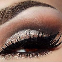 Eye make up- love the color shadow