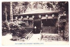 BC – VICTORIA, Japanese Tea Garden on The Gorge c.1907-1910 PPC
