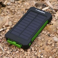 10000mAh Solar Charger Portable Solar Power Bank Outdoors Emergency External Battery    Attention  1. Please charge it under STRONG sunlight, do not charge it in cloudy day or the place through glass(e.g a window or car)    2. Solar charging is designed for emergencies, not a primary source of charging due to the compact solar panel size and sunlight intensity, it could take 37 hours under direst strong light to fully charge(there are 7-8 hours of sunlight per day). So we highly recommend…