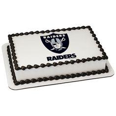 NFL Oakland Raiders PhotoCake® Image