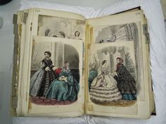 19th century fashion plates