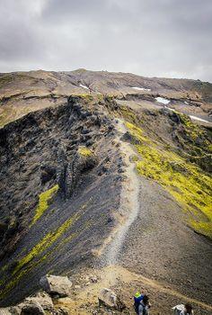 Fimmvorduhals Volcano hike