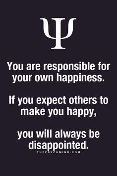 Always a good reminder. Happiness.