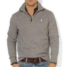 96b505b7b4dc Polo Ralph Lauren French-Rib Half-Zip Pullover Sweater - hubby s winter  style Polo