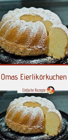 Omas Eierlikörkuchen - - REZEPTE - Gute Rezepte ( rezeptinminute ) - Omas Eierlikörkuchen You are in the right place about casserole recipes Here we offer you the most - Potato Recipe For Kids, Sweet Potato Recipes Healthy, Healthy Dessert Recipes, Baking Recipes, Potatoe Casserole Recipes, Sweet Potato Casserole, Eggnog Cake, Sweet Potato Pecan, How To Cook Potatoes