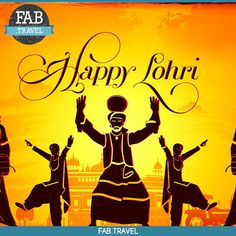 Dance to the #Rhythms of #Bhangra,with the #Blissful festival of #Lohri. May this festival bring joy & happiness to your Life. Here #FabTravel Wishes you all a very #HappyLohri.