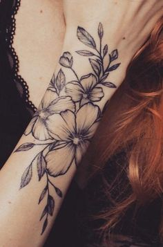 69 Ideas Tattoo Girl Blonde Sleeve For 2019 Forarm Tattoos, Back Tattoos, Wrist Tattoos, Cute Tattoos, Flower Tattoos, Body Art Tattoos, Girl Tattoos, Small Tattoos, Awesome Tattoos