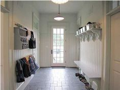 Mudroom light fixture
