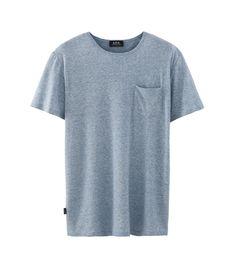 A.P.C. Hampton T-Shirt (Blue)