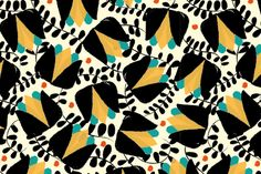 Fabrics for Qugi Bagery on Behance