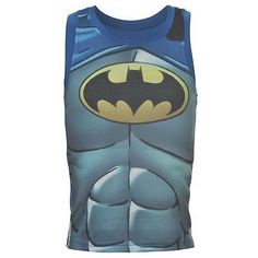 Boys graphic Batman print summer vest