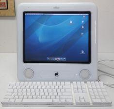 Apple eMac PowerMac G4 1.25ghz/256GB/40GB/Superdrive/Ethernet/56k/WiFi #Apple