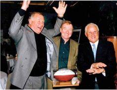 Jerry Kramer, John Lee and Don Schula at Legends #golf event. #throwbackthursday #football #NFL