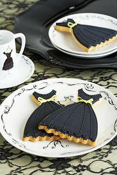 Little Black Dress Cookies                                                                                                                                                     More
