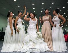"PC | PoshClick Portraiture on Instagram: ""#iSlay #weSlay #youSlay #TheySlayed Friends that #SLAY together Dance Together  #PoshClick #Portraiture #PoshClickPortraiture #people #Bridesmaid #NigerianWeddings #WeddingInspiration #BridalParty #LagosWeddingPhotogtapher #NigerianWeddingPhotographer #WeddingInspiration #PastelColours #White #TG2016 #Oshewa Wedding Dress: @galiafahd Hair by @tobbiestouch Brides Mua : @oshewabeauty Bridesmaid dresses: @houseofkhareed Event @ara_events"""