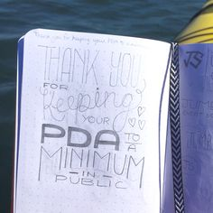Thank you for keeping your PDA to a minimum in public etsy.com/shop/mcreativej #handlettering #typography #design #petpeeve #papergoods #card #sketch #doodle