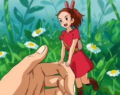 The Secret World of Arrietty ...