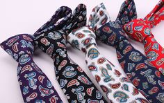 Promotional Good Quality Mens Novelty Classic Cotton Paisley Minion Tie