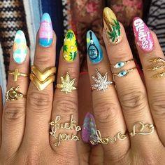 Mary-Jane rings