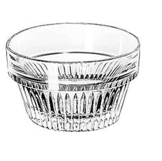Libbey Glass 15447 Winchester 5 oz Clear Glass Ramekin (Duratuff) Lot of 36   #LibbeyGlass