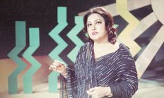 Noor Jehan in PTV Lahore centre's first episode of her famous music programme Tarannum
