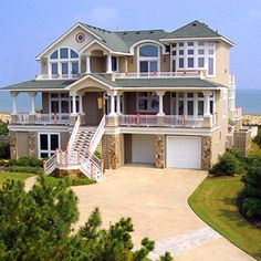 east coast home right on the water