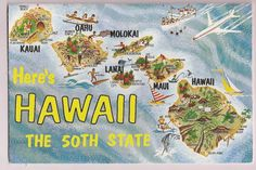 Retro Hawaii Vintage Souvenir Booklet
