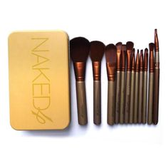 Brush Material:Goat Hair,Nylon Used With:Sets & Kits Brand Name:no Model Number:ASHB221 Size:1set Quantity:12pc Handle Material:Wood Material:wood Item Type:Makeup Brush Delivery: 10-15 days (ships ou