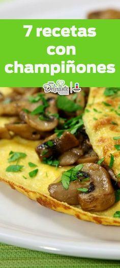 7 deliciosas recetas para los amantes de los champiñones