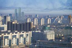 Stock-Foto : Astana, Kazakhstan, at dawn